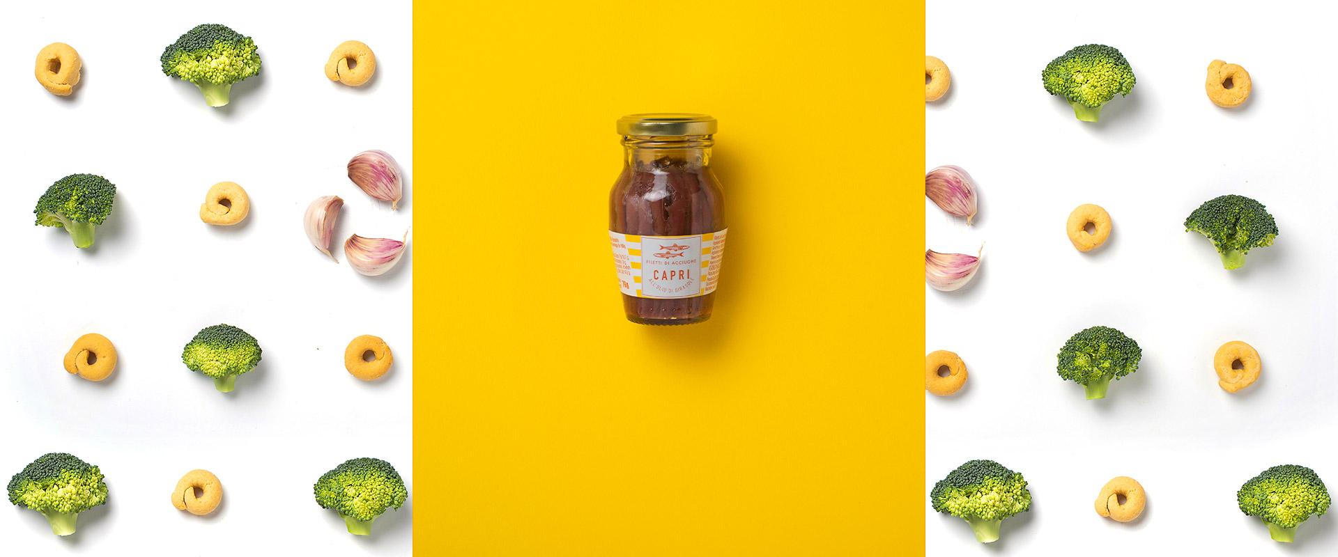 Filetti di Acciughe Capri Olio di Girasole | Ricetta