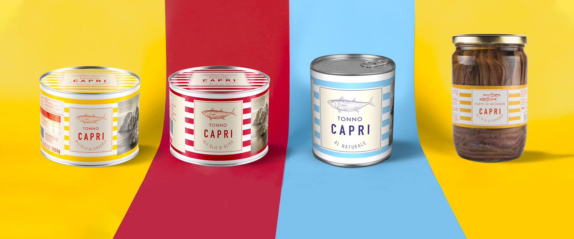 Linea Catering - Tonno Capri