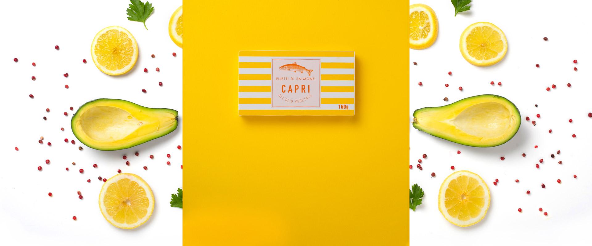 Filetti di Salmone all'olio di Girasole Capri | Ricetta