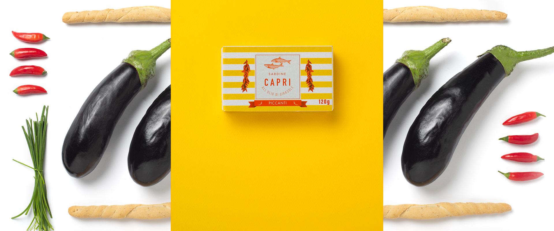 Sardine all'olio di Girasole Piccanti Capri | Ricetta