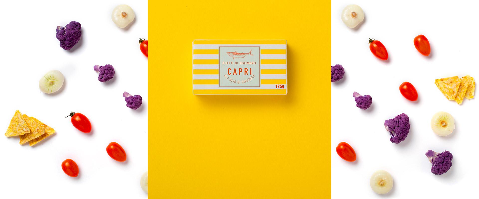 Filetti di Sgombro all'Olio di Girasole Capri | Ricetta