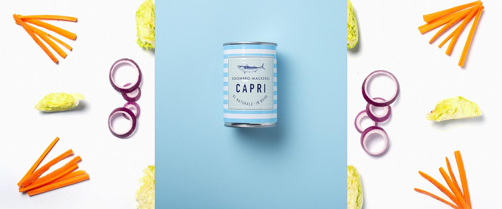 Sgombro al Naturale Capri | Ricetta