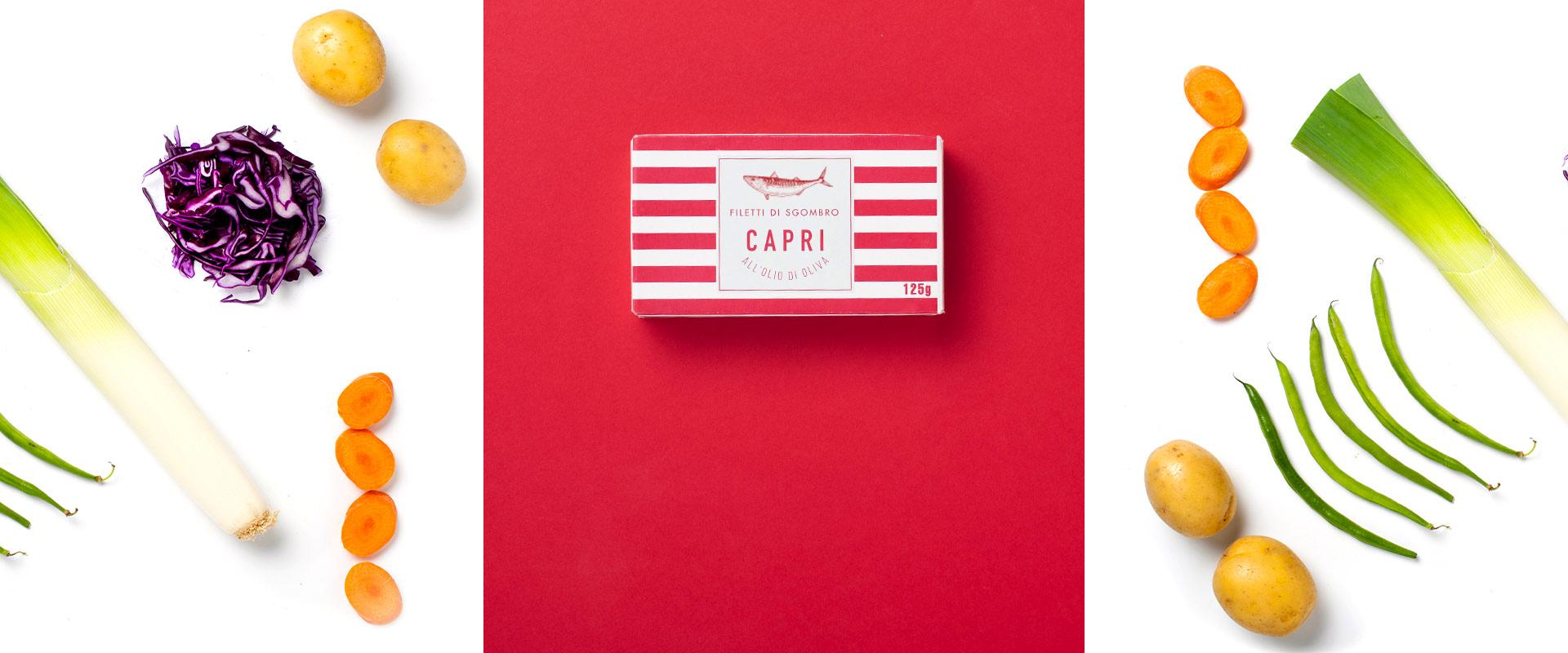 Filetti di Sgombro all'Olio di Oliva Capri | Ricetta