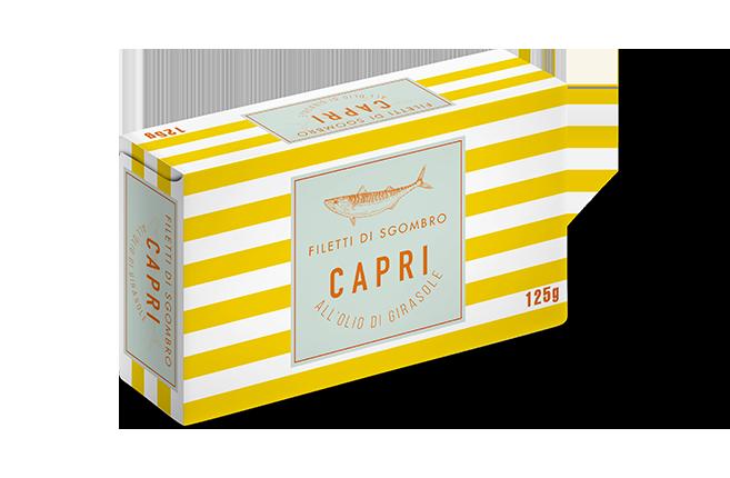 Filetti di Sgombro Olio Girasole Capri | 125g