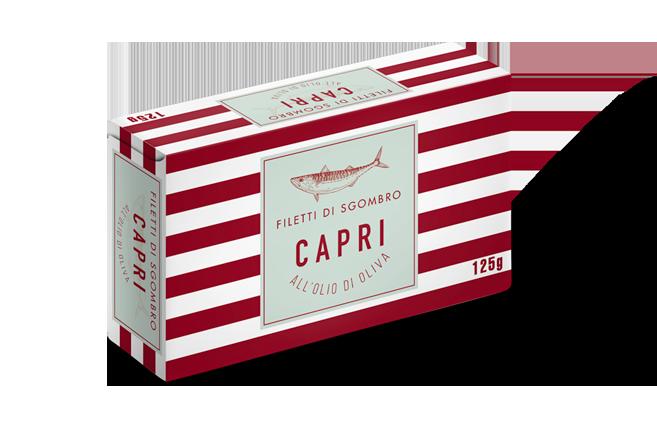 Filetti di Sgombro Olio Oliva Capri | 125g