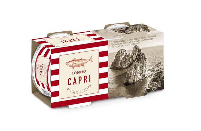 Tonno Olio Oliva Capri | Cluster 160gx2