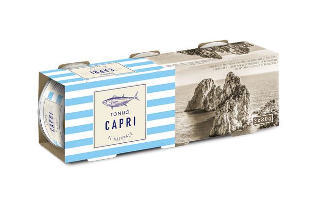 Tonno al Naturale Capri | Cluster 80gx3