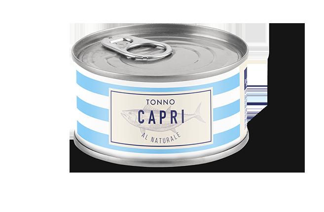 Tonno al Naturale Capri | Lattina 160g