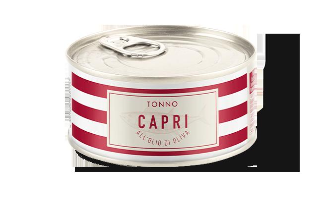 Tonno Olio Oliva Capri | Lattina 160g