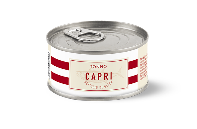 Tonno Olio Oliva Capri | Lattina