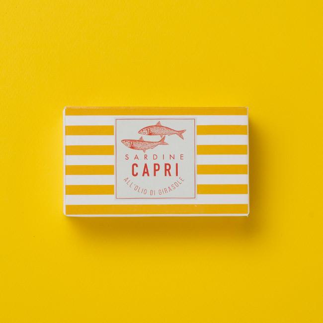 Sardine all'Olio di Girasole Capri