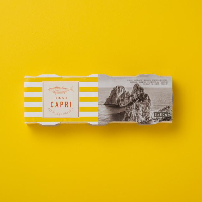 Tonno all'Olio di Girasole Capri