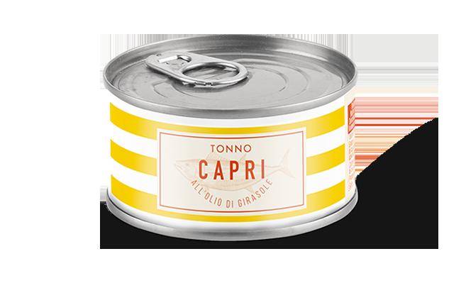 Tonno Olio Girasole Capri | Lattina