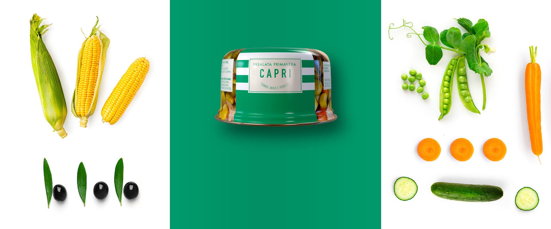 Insalata Capri primavera ricetta