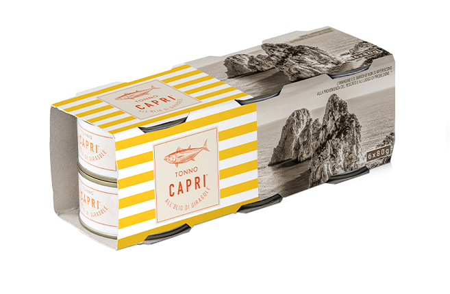 Tonno Capri 80x6 Girasole