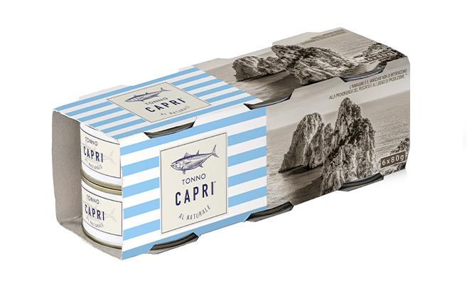 Tonno Capri 80x6 naturale